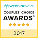 WeddingWire Couple's Choice Awards 2017 Badge