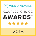 WeddingWire Couple's Choice Awards 2018 Badge