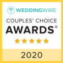 WeddingWire Couple's Choice Awards 2020 Badge